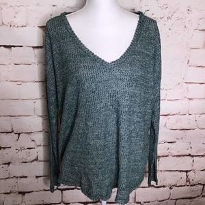 *Sale* Wild Fable Long Sleeve V Neck Cozy Tee Teal
